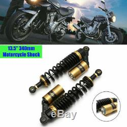 13.5 340mm Rear Shocks Absorbers Air Suspension Damper Round Hole End HOT Sale