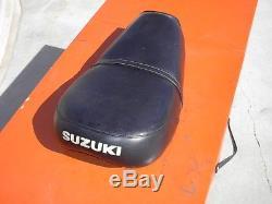 1972 1973 Suzuki TS250 Seat Very Nice Condition