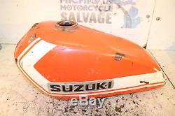 1972 72 Suzuki Ts250 Savage 250 Fuel Tank Gas Petrol Cap