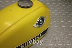 1972 Suzuki Ts250 Savage Gas Fuel Tank Cell Petrol Reservoir