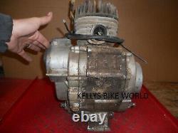 1972 Suzuki Ts90 Engine (turns, No Piston, Unknown Condition) #3046