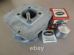 1973 1974 1975 Suzuki Ts125 Cylinder Factory Hop Up Kit Rare! Piston Rings Inc
