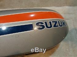 1973-1977 Suzuki ts100 tc100 fuel petrol tank reservoir Blazer Honcho