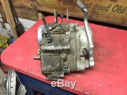 1973 Suzuki TS125 Engine Bottom End Crank Case Stator TS 125 Clutch Cover
