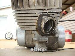 1973 Suzuki TS125 TS 125 Engine Motor Crankcase Top Bottom End