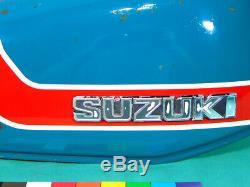 1973 Suzuki TS50 Gaucho Gas Tank with Cap TS 50 fuel tank 1971 1972 1974 R J K L