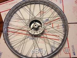 1974 1973 suzuki ts185 ts ts250 21 wheel rim spokes nos 50000-28815 55500-28840