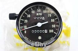 1974 Suzuki Tc125/ts125/ts185 Oem Speedometer Gauge Meter 34101-28613-999