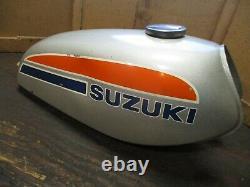 1974 Suzuki Ts100 Survivor Gas Tank