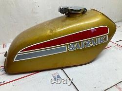 1974 suzuki tc185 gas tank tc ts 185 1975 cap
