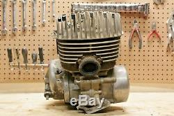 1976 Suzuki TS400 Complete Running Engine Motor