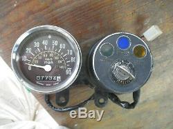 1978 Suzuki TS100 speedo/Speedometer/Clocks/Instruments