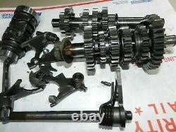 1980 Suzuki TS 125 TS125 Complete Transmission Tranny Shifting Gears (DS 100)