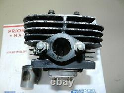 1980 Suzuki TS 125 TS125 Engine Cylinder Jug Top End Piston Std. OEM (DS 100)