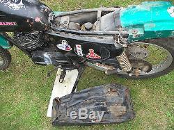 1980 Suzuki TS 185 project, spares V5