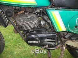 1980 Suzuki TS 185 project, spares V5 ERX 604V