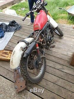 1984 Suzuki Ts125 project spares repairs