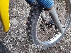 1984 suzuki ts 125 x, barn find, spares repair, project, field bike, classic