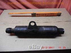 1x Auspuff-Schalldämpfer exhaust muffler pipe Suzuki TS50XK ZR RG GT TS 50 80