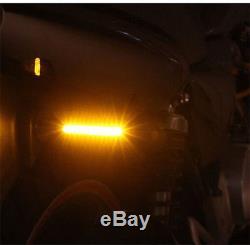 2 Pcs Waterproof 12V 12LED Flowing Motorcycle Turn Signal Indicator Lights Strip
