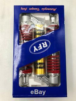 2 RFY 340mm 13 Spring=8mm Rear Air Shock Absorber Motorcycle 800Lbs Capacity