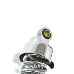 2pcs Universal 320mm Motorcycle Rear Shock Absorbers Suspension Springs Damper