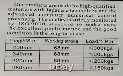 340mm Rear Motorbike Shock Absorbers ROUND HOLE For Suzuki BMW Universal