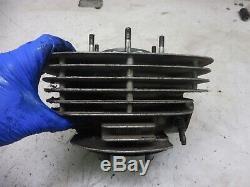 70's SUZUKI TS400 APACHE HUSTLER ENGINE R53 cylinder jug top end bore w piston