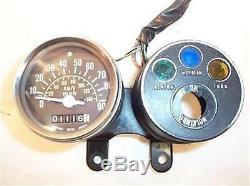 78 79 SUZUKI TS100 TS100C TS100N SPEEDOMETER assy 34100-48111 INSTRUMENT CLUSTER