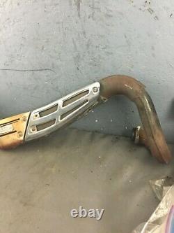 79 suzuki ts-250 exhaust pipe, 14310-30500-H01 muffler rear tail pipe ts250 78