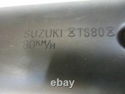 A. Suzuki TS 80 X SC Auspuff Endtopf Schalldämpfer Original Muffler Exhaust