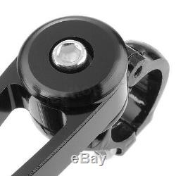 Arrow Black Handle Bar End Rear View Side Mirrors For Suzuki GSXS1000 GSXS 1000