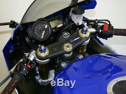 Clip-On Handlebars Helibars TS03036 For 04-16 Suzuki GSXR600 GSXR750 GSXR1000