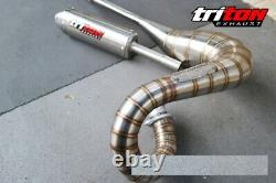 Full system for exhaust VINTAGE SUZUKI TS 125