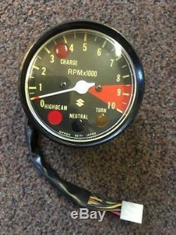 Genuine New Old Stock Suzuki Gt/Rv/Tc/ts125 Ts185 Rev Counter Tachometer