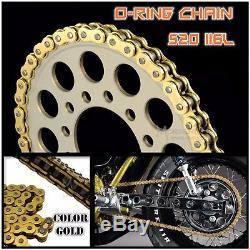 Gold 520 120L CHAIN 120 LINK O-RING MOTORCYCLE SUZUKI RM250 RMX250 RMZ250 TS250