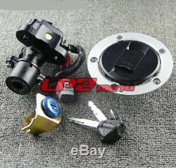 Ignition Switch Gas Cap Seat Lock Key for Suzuki GSXR600 GSXR750 GSXR1000 05-18