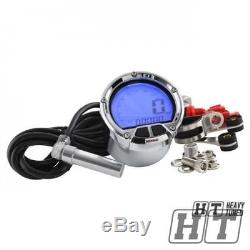 Koso Tachometer Tachometer chrome Dl-02s LCD digital Quad Roller Trike
