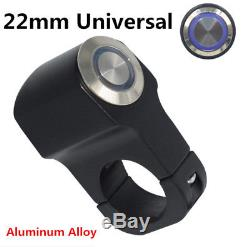 LED Indicator Waterproof 7/8 Motorcycles Handlebar Headlight Brake Lamp Switch