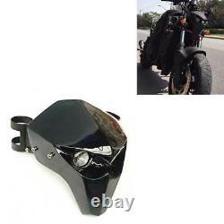 Motorcycle Universal Skeleton Skull LED Headlight Fairing For Harley FLSTF 2017