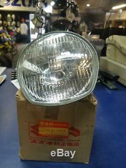 NOS Headlight Sealed Beam Suzuki TS400J 1972 Very Rare