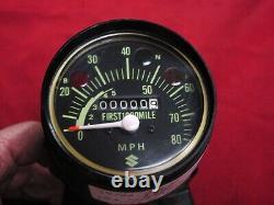 NOS Speedometer, 1971-74 Suzuki TS50 Gaucho, 34100-26620-999