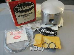 NOS Wiseco Suzuki Piston 040 Rings & Circlips 71-75 TM400 72-77 TS400 299P4
