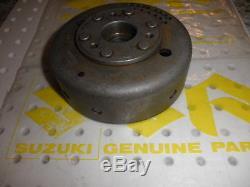New Genuine Suzuki Ts400 1973 1977 Fp4393 Flywheel Generator Rotor
