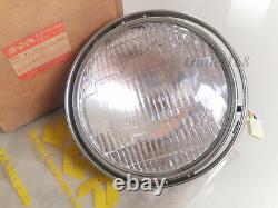 New Old Stock Suzuki TS 185 250 TS400 T500 GT 250 380 500 Head Lamp Light 12Volt