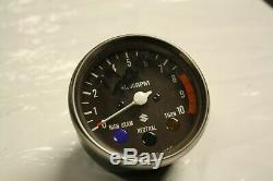 Nos 1977 1979 Suzuki Ts250 Savage Tachometer Rev Clock Two Stroke Ury Sp370
