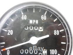 Nos New Suzuki 71-76 Ts185 71-77 Tc Ts125 Speedo Speedometer 34100-28611