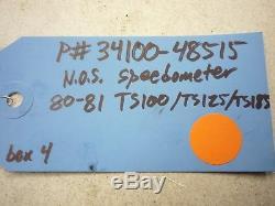 Nos New Suzuki 80 81 Ts100 Ts125 Ts185 Speedo Speedometer Gauge Ome 34100-48515