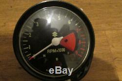 Nos Suzuki 1971 1976 Ts250 Ts 250 Savage Tachometer Tacho Clock Two Stroke