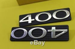 Nos Suzuki 1973-1977 Ts400 Frame Cover Emblem Set Part# 68141-32600